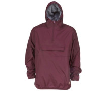 Centre Ridge Jacket maroon