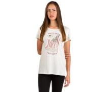 Echo Lake Logo T-Shirt powder white