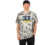 Dance Scene Tie Dye T-Shirt black