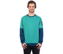 Fine Crew Sweater bluewingte