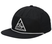 Centred Snapback Cap black