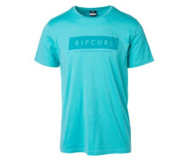 Undertow Logo T-Shirt nile blue
