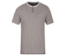 Dri-Fit Lagos Henley T-Shirt dark grey heather
