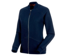 Roseg Ml Bomber Fleece Jacket marine melange