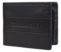 Tribong Leather Wallet black