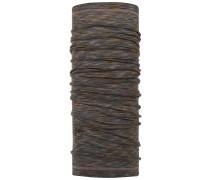 Lightweight Merino Wool Neck Warmer fossil multi stripes