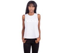 Flying V Muscle Scoop Tank Top evening haze