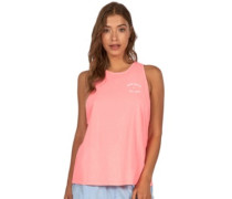 Vintage Surf Tank Top neon peach