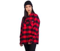 Sacramento Shirt LS red