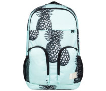 Take It Slow 2 Backpack blue light big pineapple