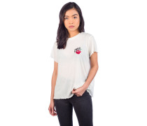 Crying Heart T-Shirt antique white