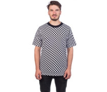 Wavey Checkered SST T-Shirt white
