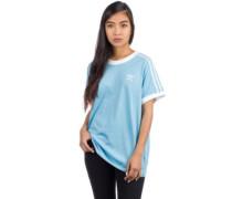 3 Stripes T-Shirt clear blue