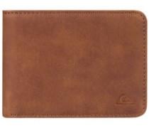 Slim Vintage Wallet tan leather