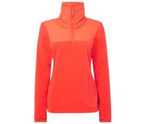 Original Half Zip Fleece Sweater neon flame