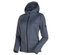 Runbold Ml Hooded Fleece Jacket marine melange