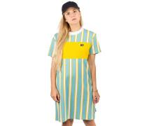 Downtown Stripe Dress milky blue