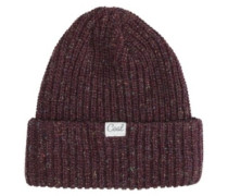 The Edith Beanie plum
