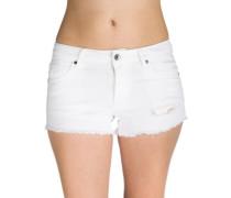 Jenna Shorts white destructed