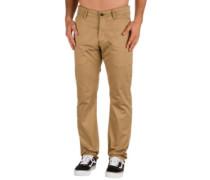 Straight Flex Chino Pants pc sand