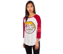 Attitude T-Shirt LS red dalhia