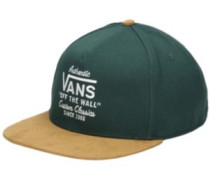 Wabash Snapback Cap darkest spruce