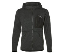 Piste Zip Hoodie black out