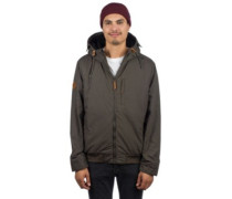 Deep Jacket black olive