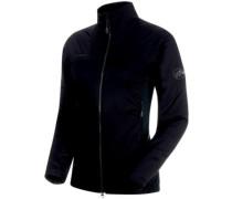 Rime In Hybrid Flex Fleece Jacket black-phantom