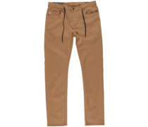 E02 Color Pants bronco brown