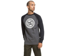 Circle Star Crew Sweater charcoal heather