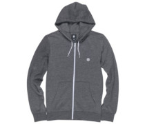 Cornell Classic Zip Hoodie charcoal heather
