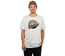 Retro Mountain T-Shirt stout white