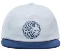 X Spitfire Shallow Unstructured Cap white