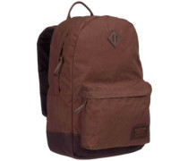 Kettle Backpack cocoa brown waxed canvas