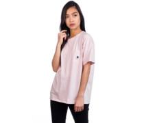 Carrie Pocket T-Shirt sandy rose ash heather