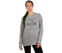 6Mile Crew Sweater heather grey