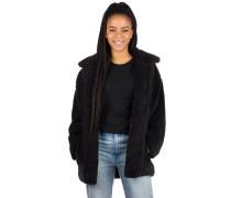 Cosy Moon Fleece Jacket black
