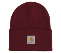 Acrylic Watch Beanie mulberry