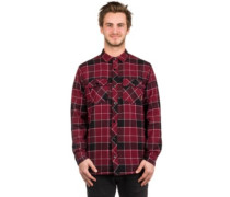 Jasper Shirt LS black