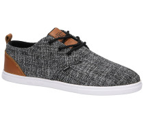 LowLau Colored Linen Sneakers black