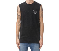 Origin Tank Top black white