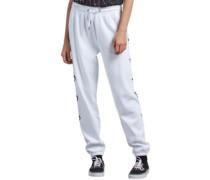 Gmj Fleece Jogging Pants white