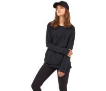 Merino Covert Mid-Hit Crew Sweater black