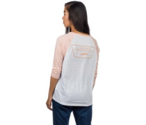 Full Patch Raglan T-Shirt LS rose cloud