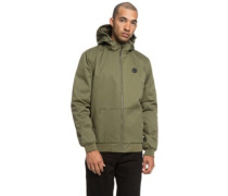 Ellis Padded Jacket burnt olive
