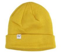 Beanie dark yellow