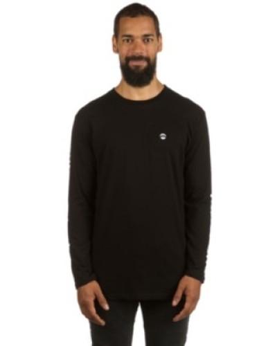 Support the Lovy Sprayed T-Shirt LS black