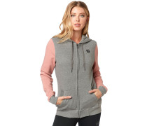 Everglade Zip Hoodie heather graphite