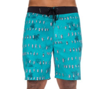 Phantom Bora Boardshorts gym green